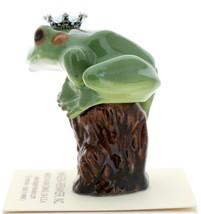 Hagen-Renaker Miniature Tree Frog Figurine Birthstone Prince 03 March Aquamarine image 4