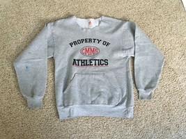 Property Of Cmms Athletics Youth Large Grey Long Sleeve Training Sweatshirt - $16.99