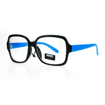Nerd Eyewear Clear Lens Glasses Square Frame Hipster Fashion Eyeglasses - $9.95