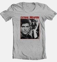 Lethal Weapon T-shirt retro 80s movie Free Shipping cotton graphic grey tee image 1