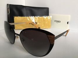 New FENDI FF 0017/S 7RM9O 58mm Black Designer Women's Sunglasses - $259.99