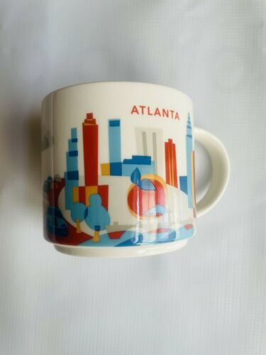 Primary image for Starbucks Coffee Mug You Are Here Collection - Atlanta - 2015
