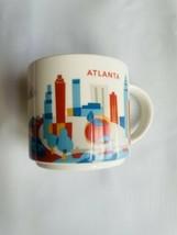 Starbucks Coffee Mug You Are Here Collection - Atlanta - 2015 - $12.86