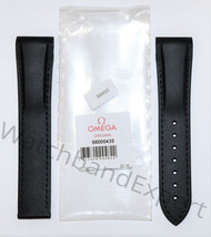 Original Omega Seamaster 21mm (Calibre 8605) Black Rubber Band Strap  - $385.00