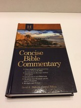 Concise Bible Commentary Holman 2010 Hardcover - $7.69