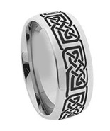 Black Tungsten Carbide SuperMan Ring With Carbon Fiber - Price for one r... - $39.99