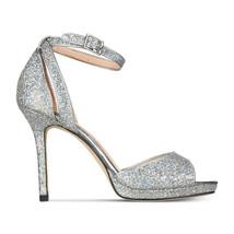 Kate Spade Franklin Silver Iridescent Rainbow High Heels 9.5 NIB - $162.86