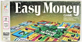 Easy Money Board Game Vintage Milton Bradley 1974 Complete - $28.70