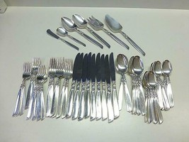 59 Pc Oneida Community SOUTH SEAS Silverplate Flatware Set 9+ Extras MCM... - $118.79