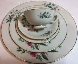 "Lenox ""Country Garden"" 5 Piece Place Setting Service For 1 (W-302) Usa - $34.64"