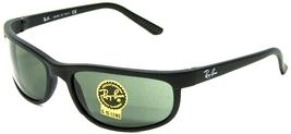 Ray-Ban Sunglasses 2027 W1847 Predator II Black Green Classic NEW & 100%... - $86.99