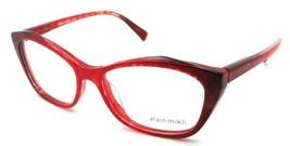 Alain Mikli Rx Eyeglasses Frames A03060 F003 54-16-140 Marbled Red / Black - $103.41