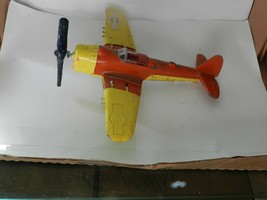 Vintage 60's Hubley Metal Kiddie Toy Flying Circus Airplane Propeller - $39.59