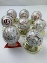 St Louis Cardinals Autographed Baseballs 1985 Xerox Vintage - $59.39