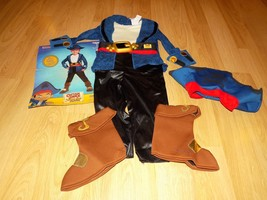 Toddler Size 2T Disney Jake and the Never Land Pirates Captain Halloween... - €31,13 EUR
