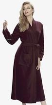Long Fleece Robe Color Maroon Women's Artis Collection - ₨3,176.78 INR