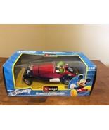 NEW Rare Disney Collection Mickey Mouse Burago Mercedes-Benz SSK -Italy ... - $54.95