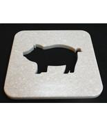 Pig Pot Holder, Pig Kitchen Hot Plate, Pig Trivet - $29.95