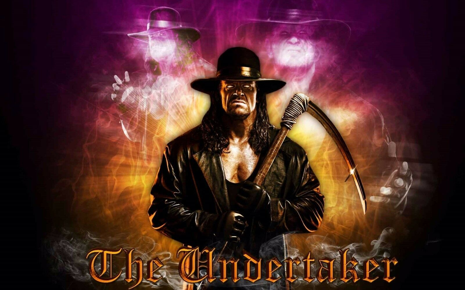 Primary image for THE UNDERTAKER (sickle)  POSTER 24 X 36 INCH WWE