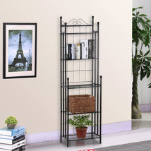5 Tier Wire Shelving Rack Metal Shelf Adjustabl... - $46.99