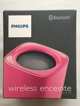 Philips BT100P/27 Wireless Mini Portable Bluetooth Speaker, (Pink) Pink - €26,61 EUR