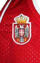 Nemanja Bjelica #8 Serbia Basketball Jersey New Sewn Red Any Size image 4