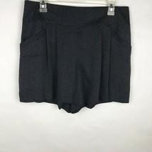 Ann Taylor LOFT Women's Size 8 Black White Polka Dot Shorts Classic Plea... - $24.70