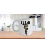 Morgan Jones Clear The Walking Dead Coffee Mug Lennie James Novelty Zomb... - $15.51+