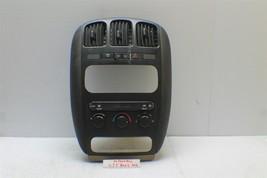 01-05 Dodge Caravan AC Climate Radio Control Bezel Dash 05005001AH 02 02... - $25.73