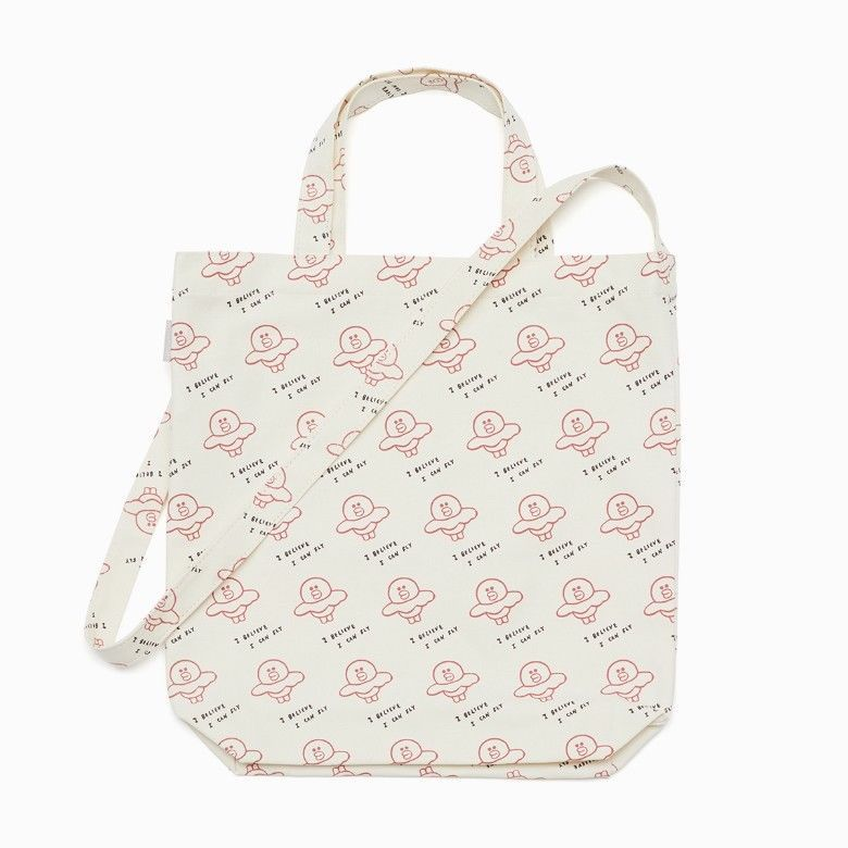 Primary image for LINE FRIENDS Character SALLY Pattern Cross Eco Bag Tote Bag Official Goods