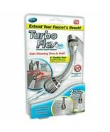 Turbo Flex 360 Instant Hands Free Faucet Swivel Spray Sink Hose - Free S... - $8.96