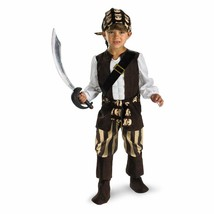 Rogue Pirate Costume - Large 4-6 - £27.60 GBP