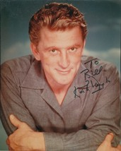 Kirk Douglas signed Spartacus photo. Nice !!! - $28.95