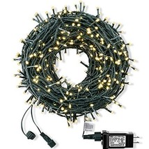 ROYAMY Outdoor Christmas String Lights 300 LED 105ft ,Warm White - $31.40