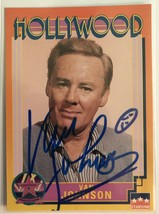 Van Johnson (d. 2008) Signed Autographed 1991 Hollywood Walk of Fame Tra... - $19.99