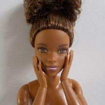 Made To Move AA Barbie Doll Updo Hairstyle Jointed Poseable - $34.64