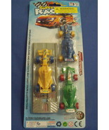 Toys New Super Racing Cars Set of 3 Cars plus Launcher 4 inches - $6.95