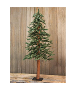 Natural Looking Alpine Christmas Tree Rustic Holiday Decor 2' 3' 4' - $37.61+