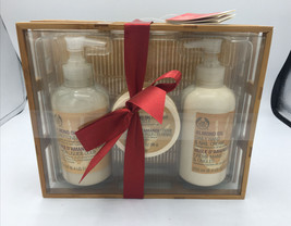 The Body Shop ALMOND OIL  Hand and Nail GIFT SET - $37.39