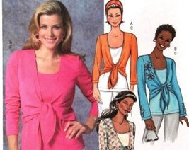 Butterick B4396 Misses' Tops ~ 3 Styles ~ Size: LX-SMALL, Small, Med~ Sewing Pat - $9.80