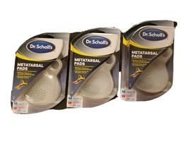 *Lot of 3 Pair* Dr Scholls Metatarsal Shoe Pads Mens / Womens Gel Ball O... - $21.37