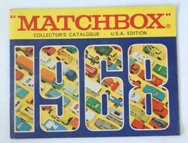 Vintage 1968 Matchbox Lesney Collector's Toy Dealer Catalog Booklet - $31.68