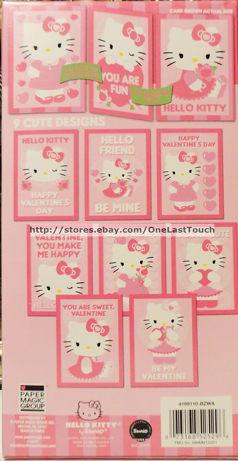 Twisted Whiskers 32 Count Kids Valentine Exchange Cards