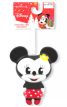 Hallmark Disney Minnie Mouse Decoupage Christmas Ornament New with Tag image 3
