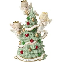 "Precious Moments""Gloria in Excelsis Deo Angels Decorating Christmas Tree... - $159.49"