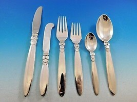 Cactus by Georg Jensen Danish Sterling Silver Flatware Set Service 52 Pi... - $8,415.00