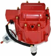 Buick HEI Distributor Red Cap BB 400 430 455 & 8mm Spark Plug Kit image 2