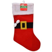 Christmas House Santa Belt Felt Stockings, 18 in. w - $5.99