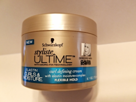 Schwarzkopf Styliste Ultime Elastin Curls & Moisture Curl Defining Hair Cream - $10.00