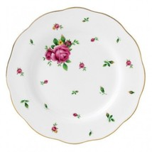 ROYAL ALBERT NEW COUNTRY ROSES WHITE VINTAGE SALAD PLATE (s) - $32.71